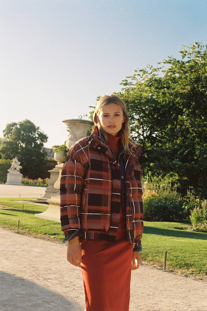 Amelia Plaid Puffer Jacket