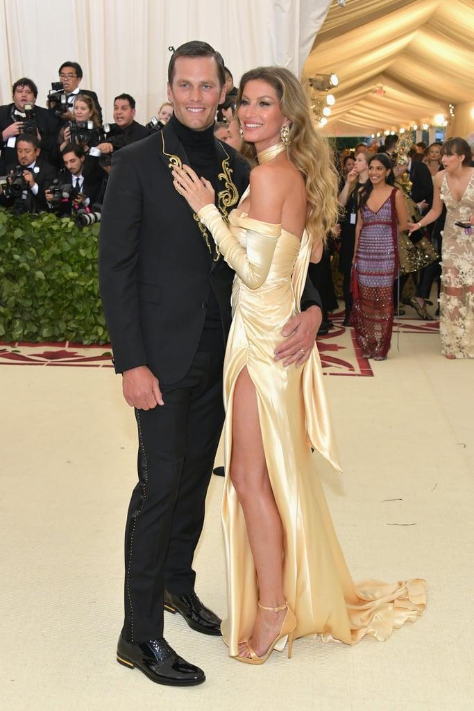Gisele Bündchen and Tom Brady at the 2018 Met Gala