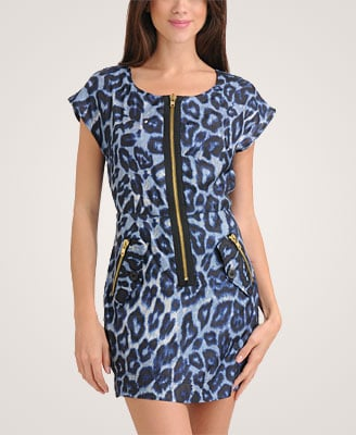 Forever 21 Wild Leopard Zippered Dress ($30)
