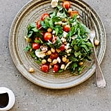 Chickpea, Tomato, and Feta Salad With Pomegranate-Molasses Dressing