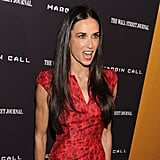Demi Moore at a movie premiere in NYC.