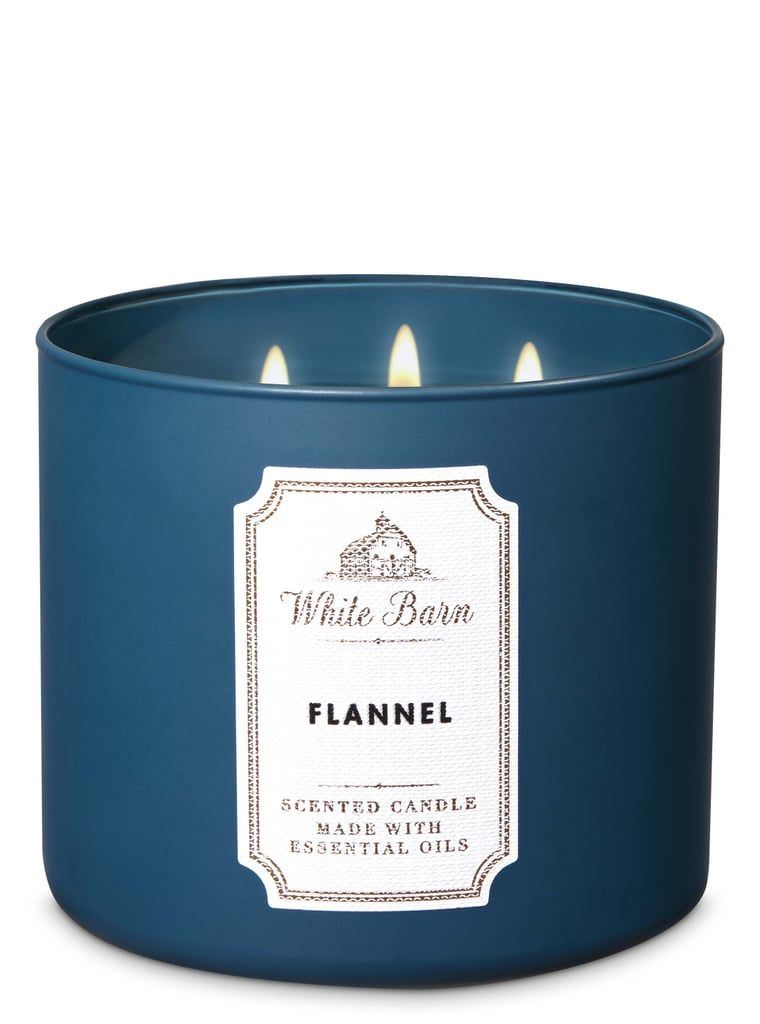 Bath and Body Works Flannel 3-Wick Candle