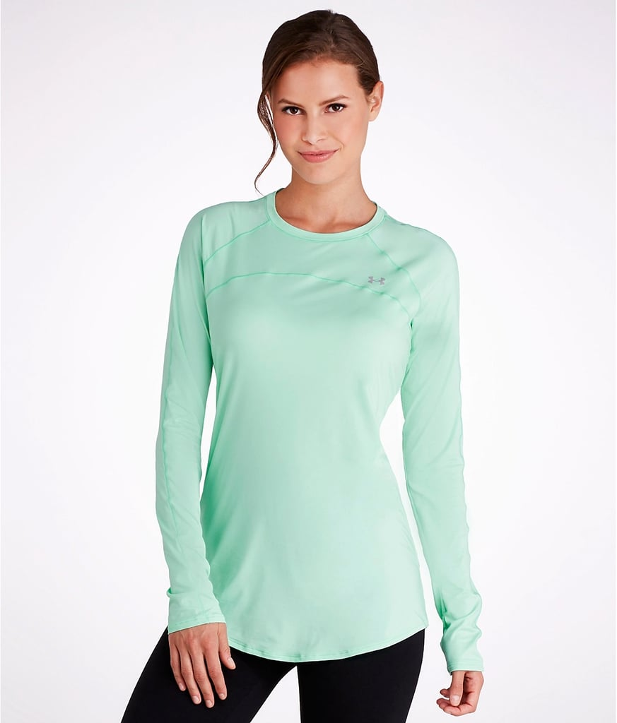 ca997edaf5 Under Armour UA Sunblock 50+ T-Shirt | Mint-Green Workout Clothes ...