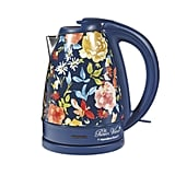 Pioneer Woman 1.7 Liter Electric Kettle Blue/Fiona Floral