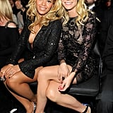 Beyoncé helped inspire Gwyneth Paltrow's live Country Music Awards performance in 2010.