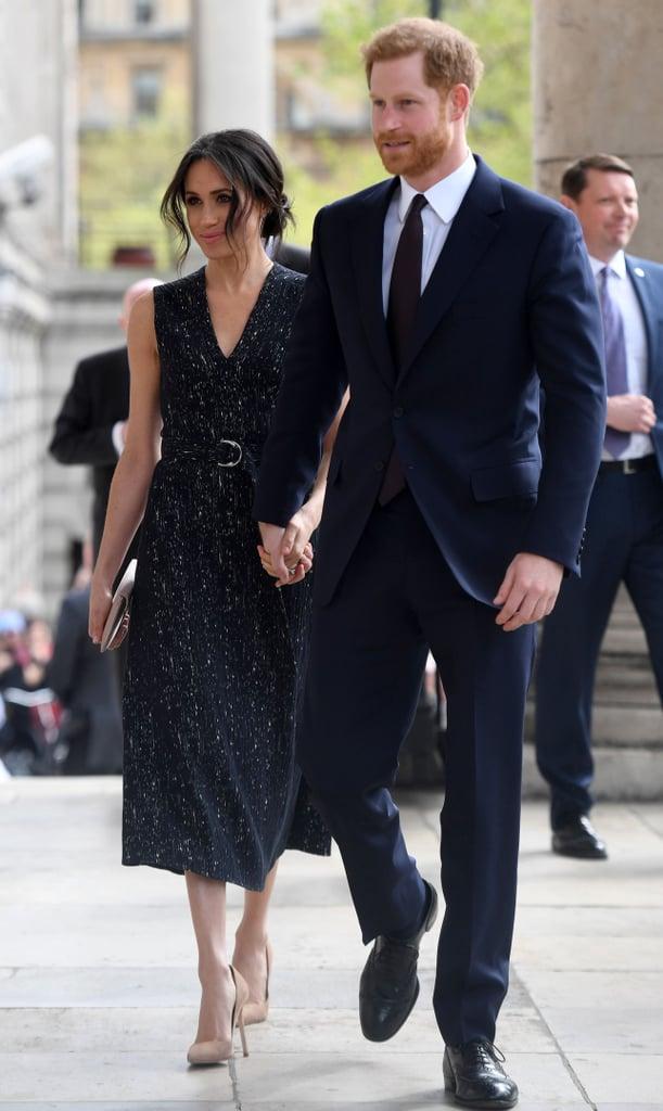 Meghan Wears Hugo Boss As The Royal Tour Leaves Australia