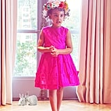 Beyoncé and Blue Ivy Celebrate Easter Early With a Spring-Themed Tea Party