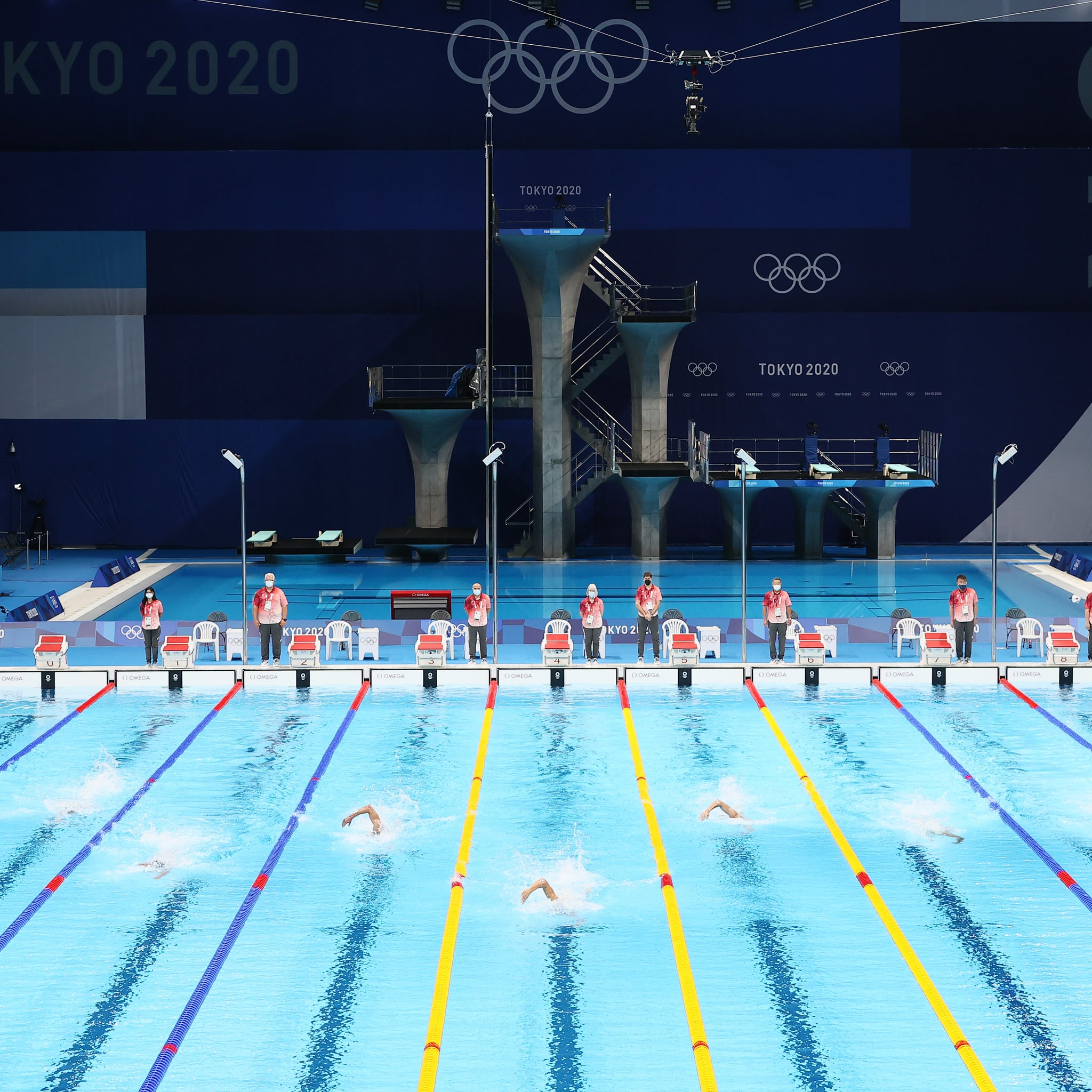 Why the Middle Lanes Are a Coveted Spot for Olympic Swimmers