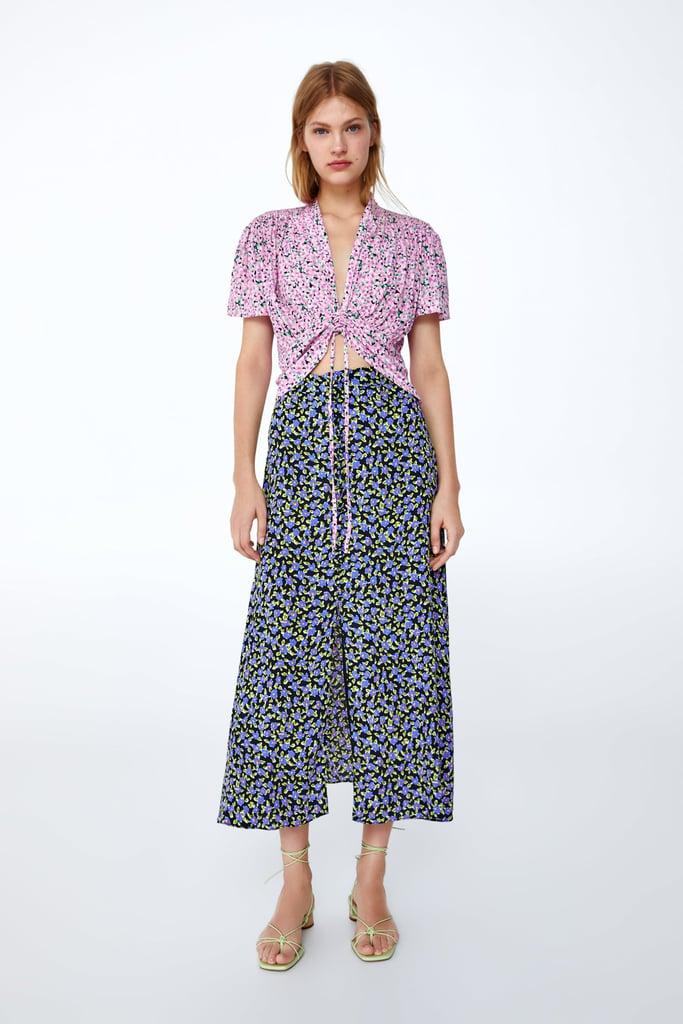 Zara Blouse and Skirt