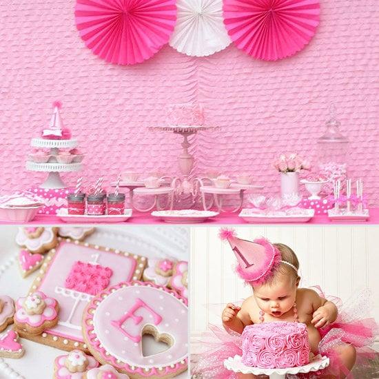 Pretty in Pink Creative First Birthday Party Ideas POPSUGAR