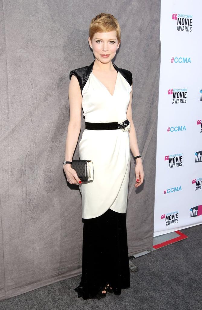 Red Carpet Dresses at Critics' Choice Awards 2012