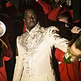 "Sean ""P. Diddy"" Combs as a King"