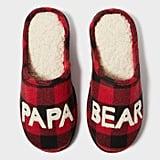 Papa Bear Scuff Slippers