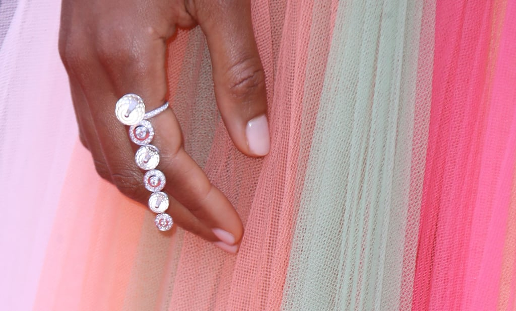 Naomie Harris Wearing a Ring by Atelier Swarovski Fine Jewelry