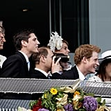The royals watched the race together in 2011.