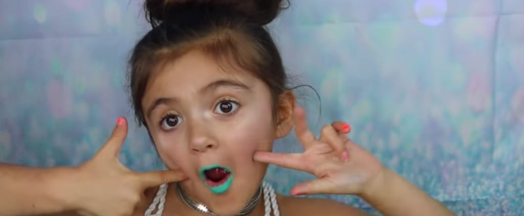 This 5-Year-Old's Unicorn Makeup Tutorial is Everything