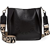 Stella McCartney Perforated Logo Faux Leather Crossbody Bag