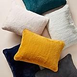 Anthropologie Sophie Faux Fur Pillow