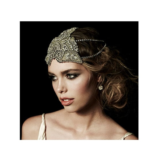 Johanna Johnson The Zephyr Chain Headpiece, $875