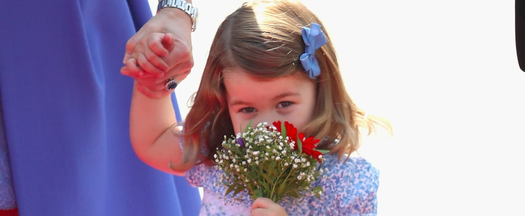 Nothing Is Sweeter Than Princess Charlotte Stopping to Smell Her Flowers in Germany