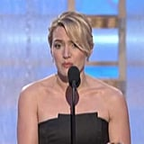 2009: Kate Thanks Leo During Her Acceptance Speech