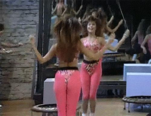 And let's not forget her jump-roping skills.