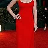 Scarlett wowed at the 2006 Golden Globes in this sexy red dress.
