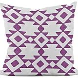 e by design Geometric Throw Pillow ($40)
