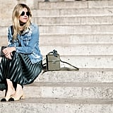 Chanel shoes at Paris Fashion Week
