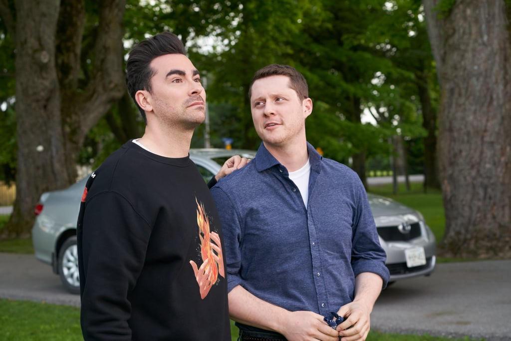 Schitt's Creek: David Rose's Flame Sweater Is an Easter Egg