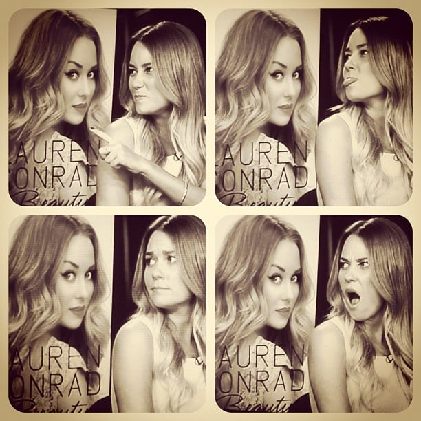 Lauren Conrad got fiesty with her alter ego. Source: Instagram user laurenconrad