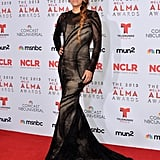 Eva Longoria sported several different looks for the event.