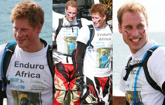 20/10/2008 Prince William and Prince Harry