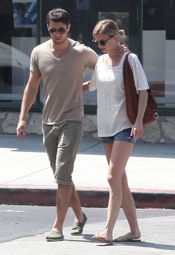 Emily VanCamp and Joshua Bowman were arm-in-arm for brunch in LA.