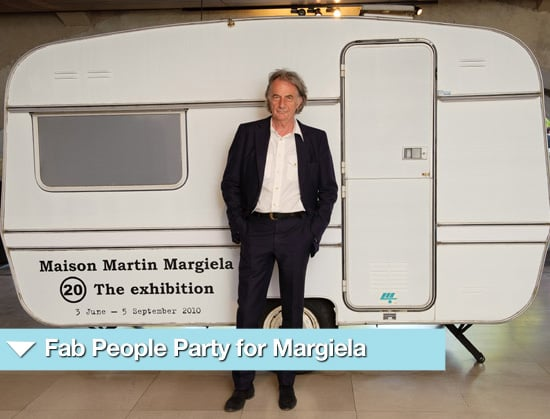 "Photos from Maison Martin Margiela ""20"" Private View with George Lamb, Paul Smith and Daphne Guinness"