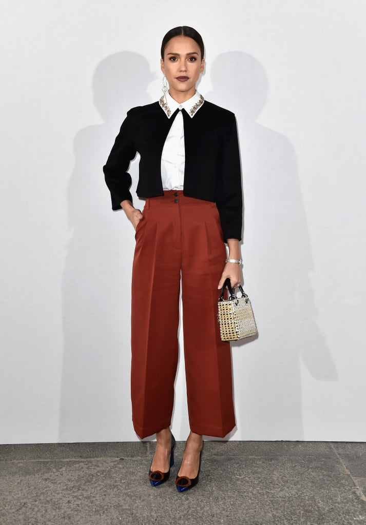 Jessica Alba at Dior Fashion Show Fall 2016