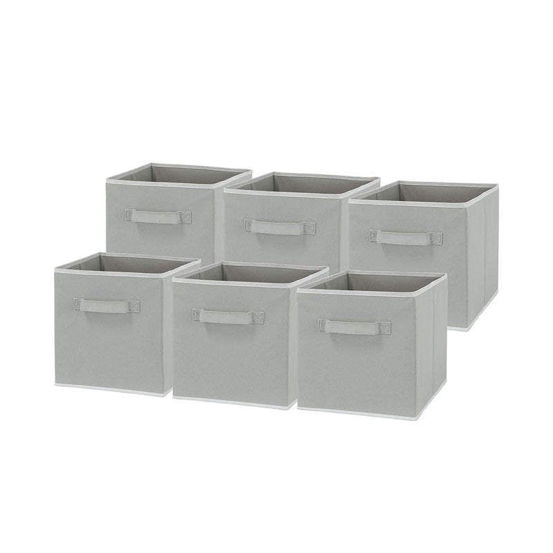 SimpleHouseware Foldable Cube Storage Bins