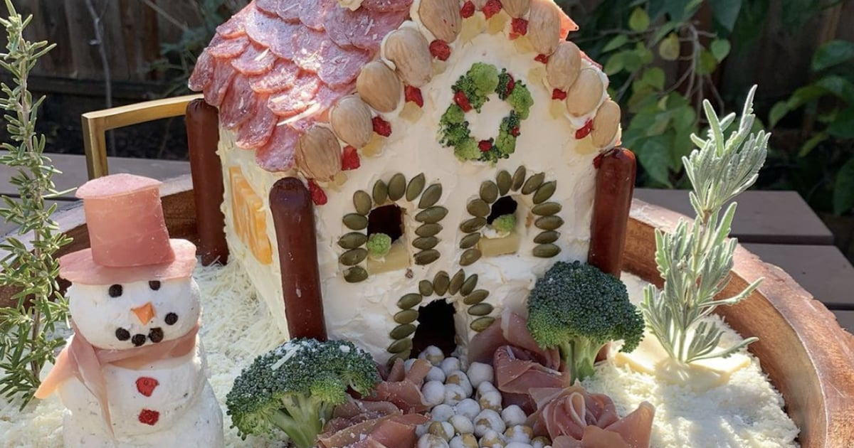 Charcuterie Chalets — Complete With Parmesan Snow — Are the New Gingerbread Houses