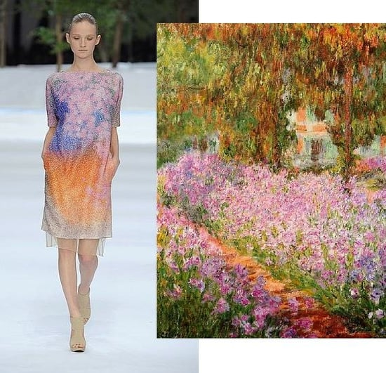 Trend de la Creme For Coutorture: Akris Spring 2009 For Monet