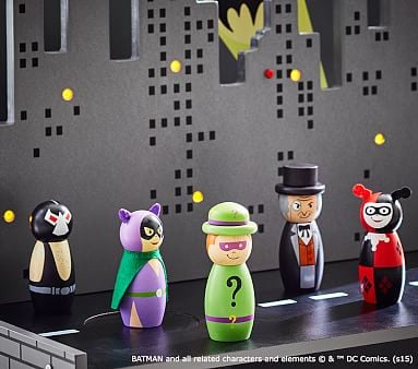 DC Super-Villains Figurines Set