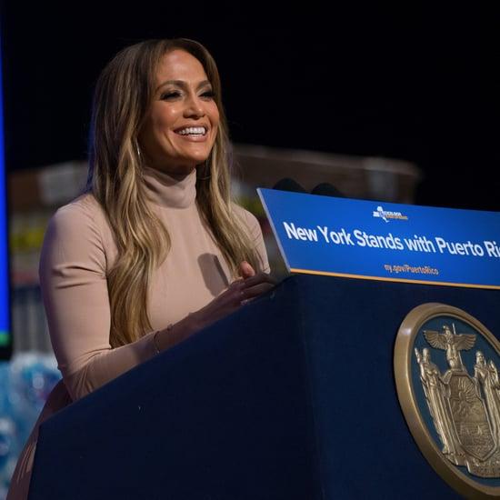 Jennifer Lopez Donates to Puerto Rico Hurricane Relief
