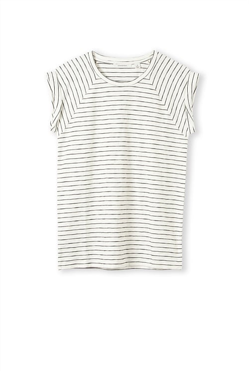 The Perfect Spring Striped Tee