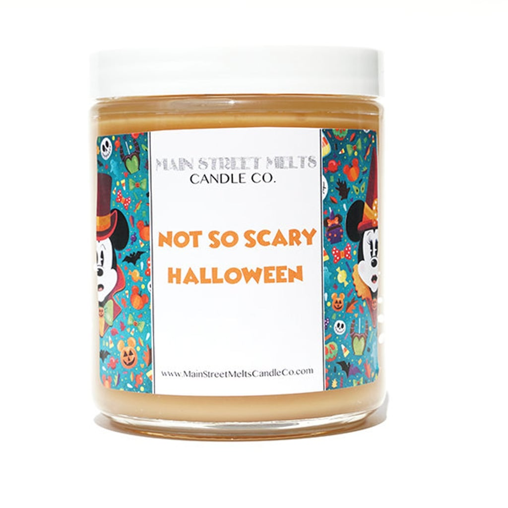 Not So Scary Halloween Disney Candle