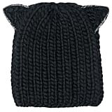 Eugenia Kim Women's Felix Cat Ears Wool Knit Beanie - Black