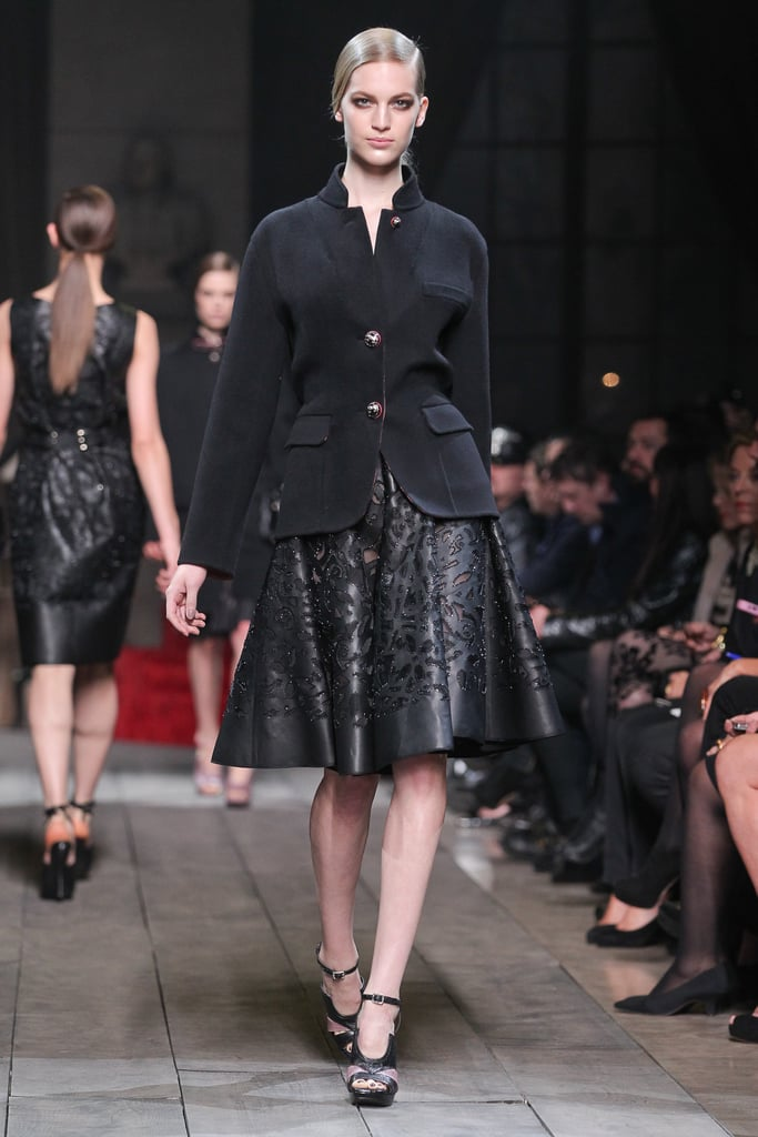 The New Family of Loewe Leather and Black for Next Fall