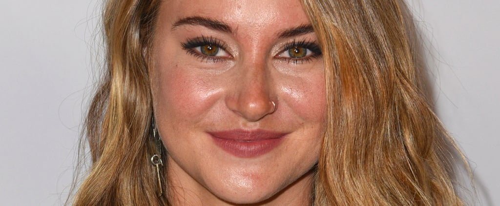 """Shailene Woodley's Special Effects Makeup Will Have You Saying, """"Ouch!"""""""
