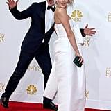 When Derek Photobombed Julianne at the Emmys