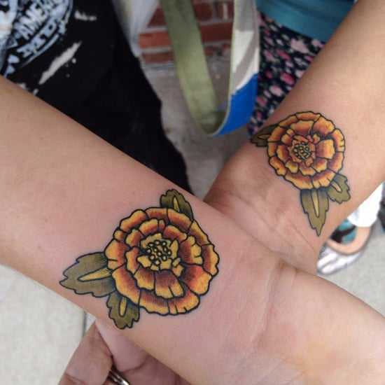 October Birth Flower Tattoos