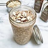 Almond Nog Overnight Oats