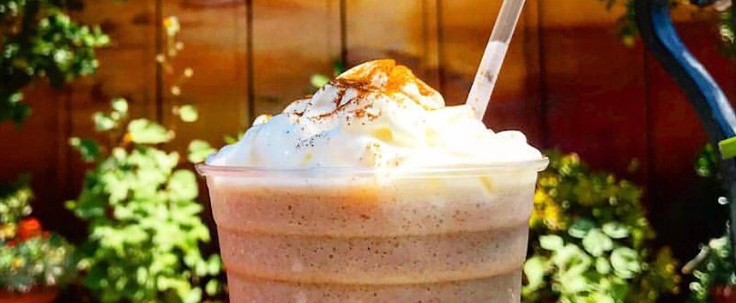 Blended Horchata Drink at Disneyland